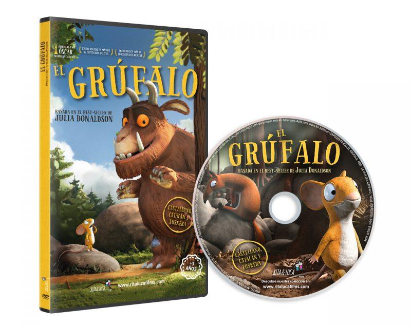 DVD EL GRÚFALO