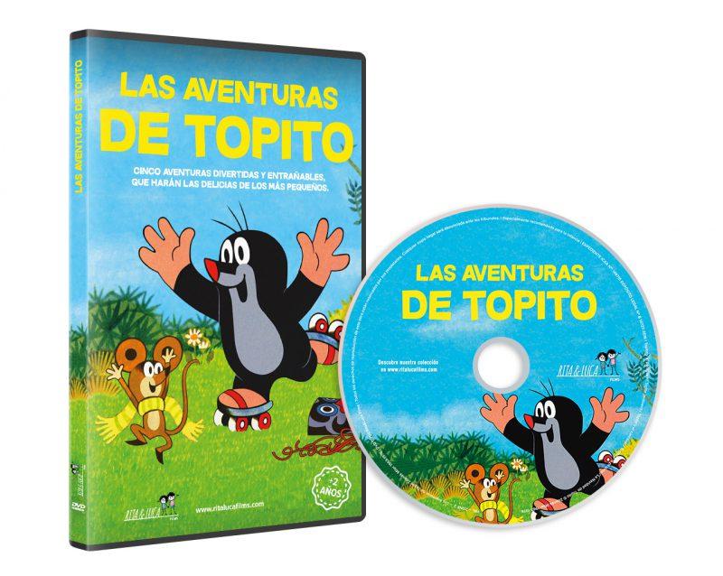 DVD LAS AVENTURAS DE TOPITO