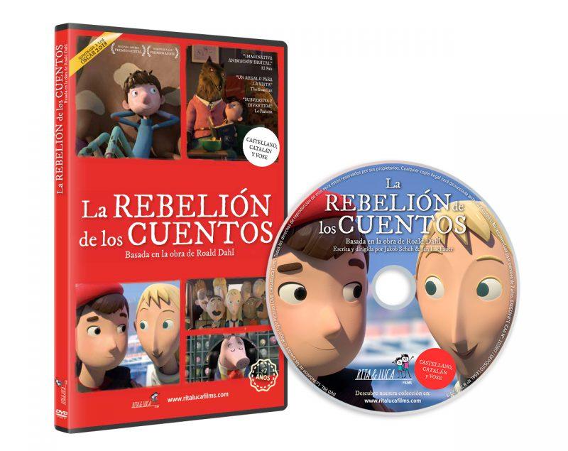 DVD LA REBELIÓN DE LOS CUENTOS