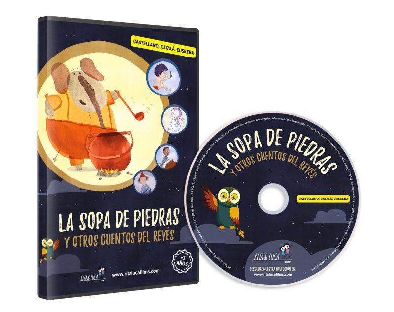 DVD LA SOPA DE PIEDRAS
