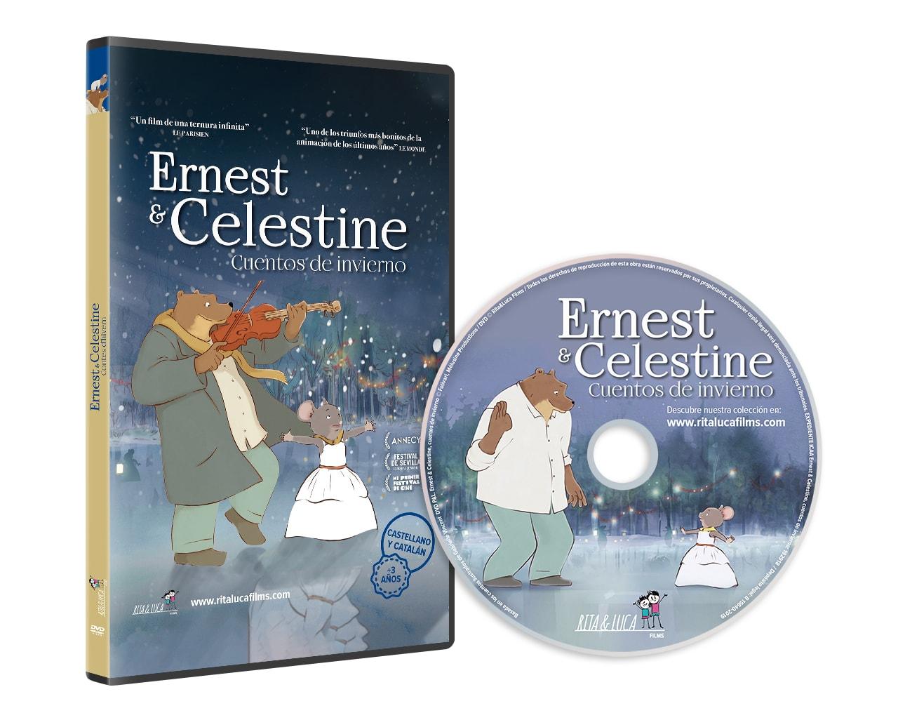 Ernest&Celestine-DVD