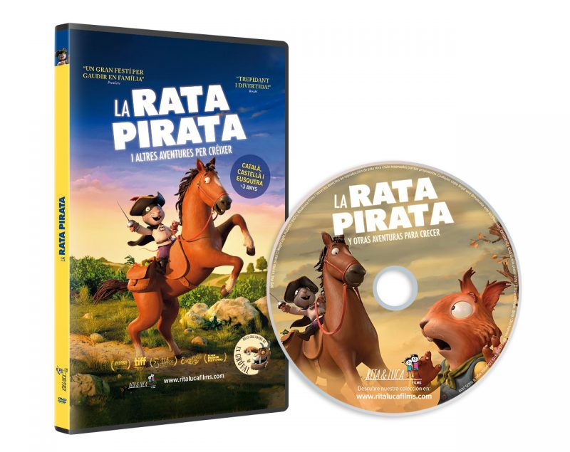 DVD LA RATA PIRATA