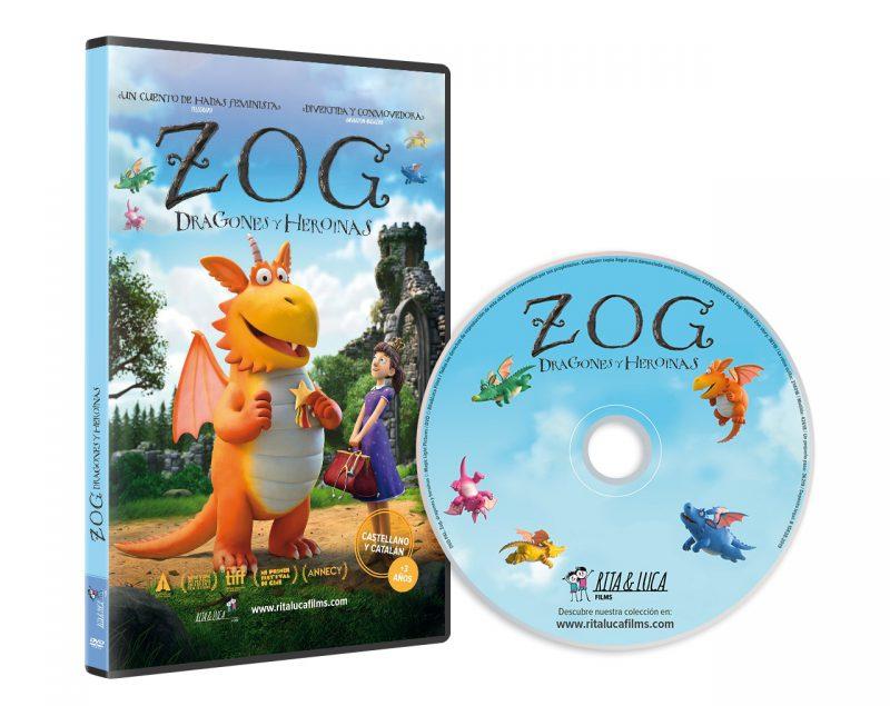 DVD ZOG, DRAGONES Y HEROÍNAS