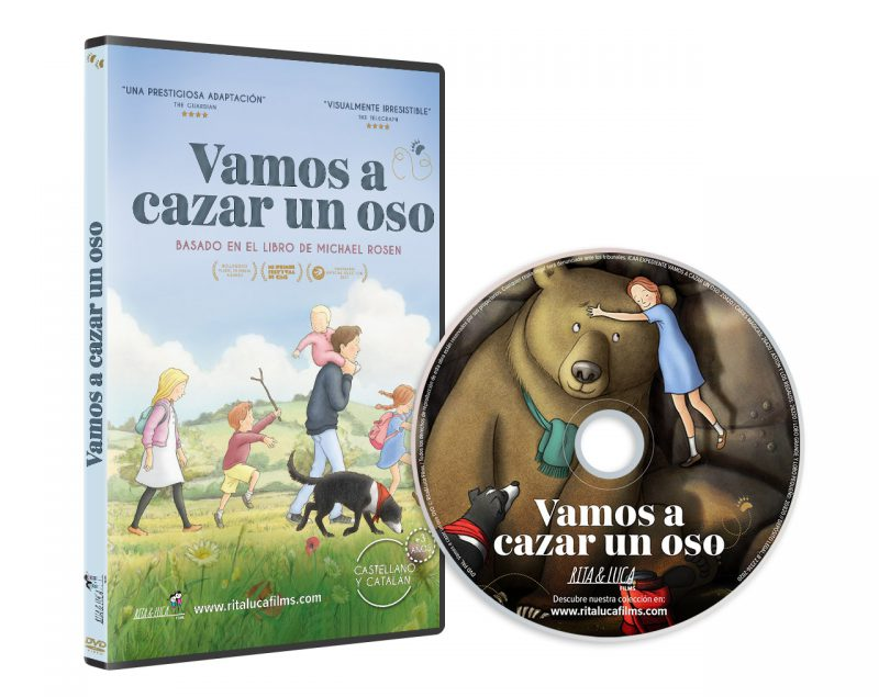 DVD Vamos a cazar un oso